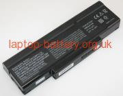 10.80 V, 6600 mAh batteries for CLEVO A4000