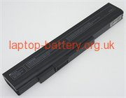 MSI CR640-72632G50SX, CR640-32312G32SX laptop battery uk