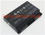 CLEVO P150, K670E laptop battery uk