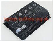 14.8 V, 5200 mAh batteries for CLEVO p370em