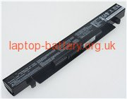 ASUS X550, X450 laptop battery uk
