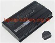 CLEVO ZX8, NP9752 laptop battery uk