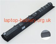 14.6V or 14.8V or 15 V, 2670 mAh batteries for HP TPN-Q158