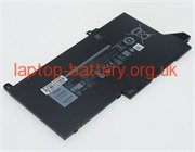 11.4 V, 3500 mAh batteries for DELL Latitude E7480